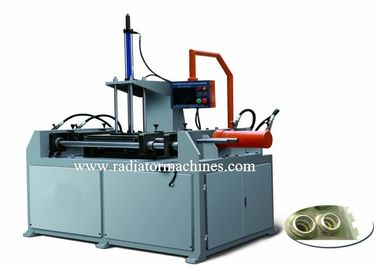 China Hydraulic Mechanical Radiator Making Machine For Aluminum Pipe 8mm Dia supplier