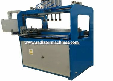 Manual Type Radiator Plastic Tank Crimping / Clinching Machine Pneumatic Force