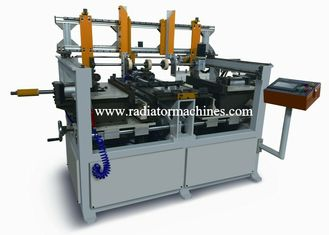 Long Working Life 5 Row Radiator Core Builder Machine With Tube Distribution