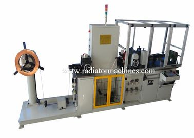 China Copper Radiator Fin Machine , Fin Making Machine 1- 4 Rows Core supplier