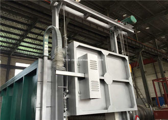 China PLC Controlled Electric Resistance Bogie Hearth Furnace 6-8 M / Min Door supplier