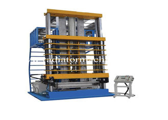 China Hydraulic Type Vertical Tube Expander Machine For Radiator Tube Fin Expansion supplier