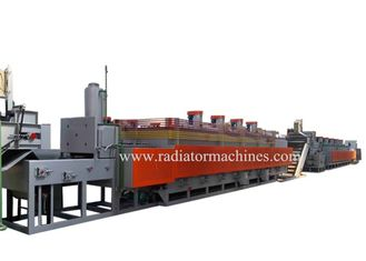 China Large Capacity Gas Mesh Belt Conveyor Furnace For Screws And Nails 1000kg / Hour supplier