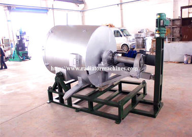 China 7.5KW 1500Kgs Zinc Powder Metal Melting Furnaces Both Gas And Oil Fired supplier