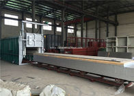 China Natural Gas 900 Degree Celcius Bogie Hearth Furnace For PWHT Heat Treatment factory