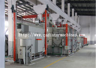 China 450 kg/h Electric Resistance Mesh Belt Furnace Rotary for Steel Ball Annealing factory