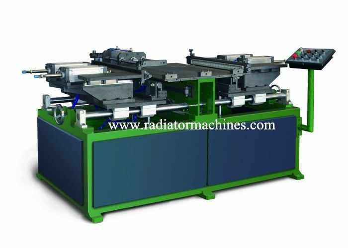 Auto Aluminum Radiator Core Builder Machine Pneumatic Semi Automatic 1 Row supplier