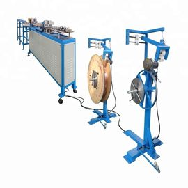 Copper Tube Straightening And Cutting Machine , 1.5 Kw Industrial Hvac Units