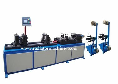 China High Speed Radiator Making Machine Harmonica Tube Straightening And Cutting factory