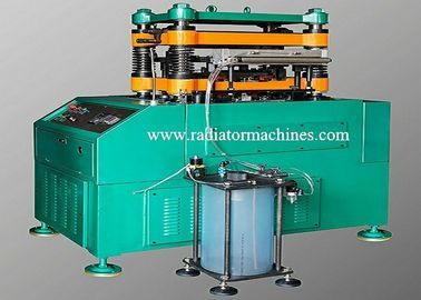 China Fast Speed 120 SPM Fin Making Machine Stamping Lanced Offset Fin 500 Mm Wide factory