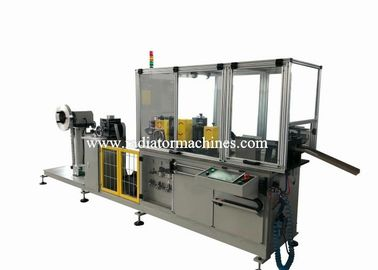 100 M / Min High Speed Radiator Fin Machine With Combined Width Roller