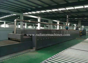 China 16M Aluminium Radiator Brazing Furnace Nitrogen Protective Atmosphere factory