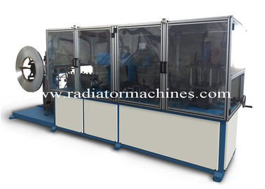China Fully Auto Aluminum Side Plate Radiator Making Machine for Brazing Radiators factory