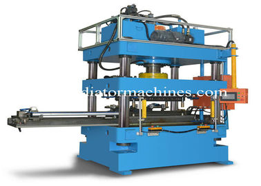 China Condenser Header Pipe Punching Machine , Automatic Punching Machine For D Tubes factory