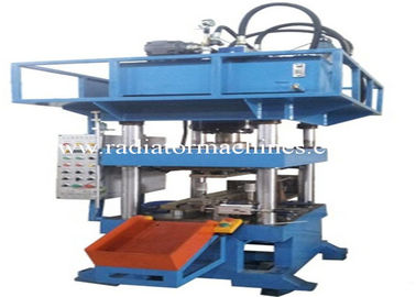 China 7.5KW Radiator Making Machine Pipe Punching Machine For Aluminum Pipe 3003 factory