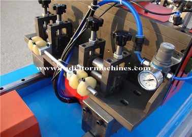 Flat Tube Cutting Machine , Automatic Straightening Machine 12 Months Warranty