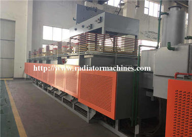 Customized Voltage Mesh Belt Furnace Muffle Type 300 KG/H for Leaf Springs