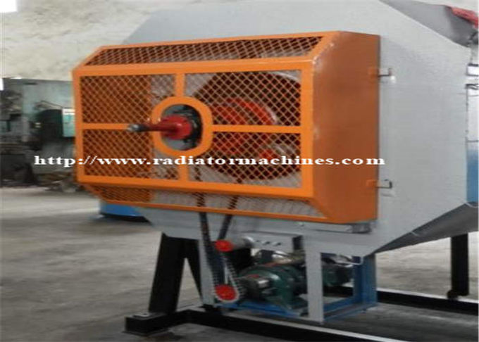 High Performance 45KW Rotary Electric Heat Treat Furnace For Screws And Bolts