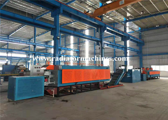 100kg / H Mesh Belt Furnace For Drywall Screws Quenching Hardening Tempering